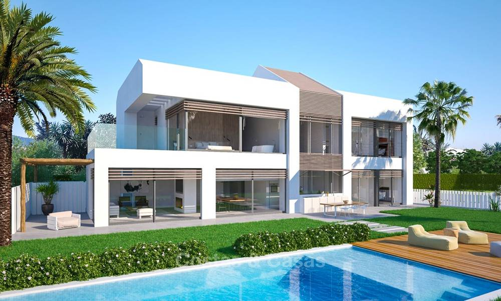 Unique ultra-modern beach front designer villa for sale, New Golden Mile, Marbella - Estepona 6193