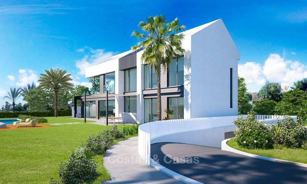 Unique ultra-modern beach front designer villa for sale, New Golden Mile, Marbella - Estepona 6197