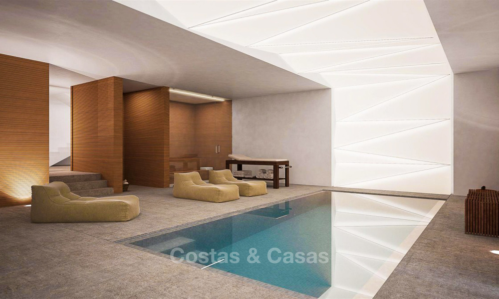 Unique ultra-modern beach front designer villa for sale, New Golden Mile, Marbella - Estepona 6198
