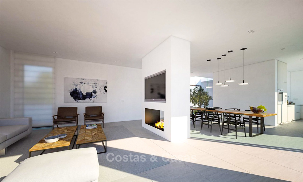 Unique ultra-modern beach front designer villa for sale, New Golden Mile, Marbella - Estepona 6199