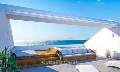 Unique ultra-modern beach front designer villa for sale, New Golden Mile, Marbella - Estepona 6201