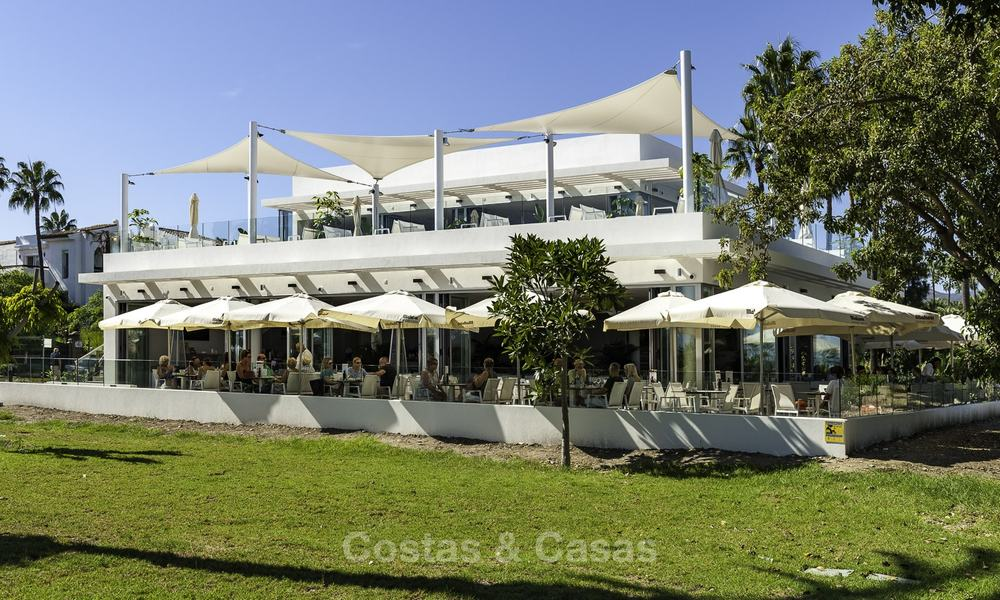 Unique ultra-modern beach front designer villa for sale, New Golden Mile, Marbella - Estepona 24719