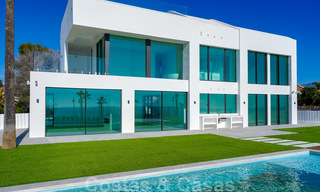 Unique ultra-modern beach front designer villa for sale, New Golden Mile, Marbella - Estepona 24930