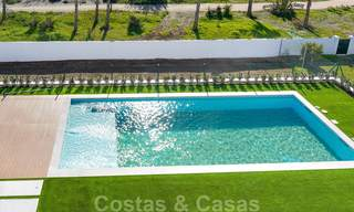 Unique ultra-modern beach front designer villa for sale, New Golden Mile, Marbella - Estepona 24936