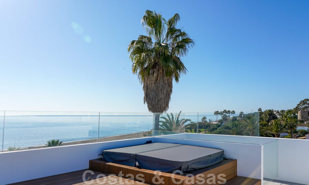 Unique ultra-modern beach front designer villa for sale, New Golden Mile, Marbella - Estepona 24937