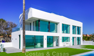 Unique ultra-modern beach front designer villa for sale, New Golden Mile, Marbella - Estepona 24939
