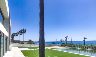 Unique ultra-modern beach front designer villa for sale, New Golden Mile, Marbella - Estepona 24942