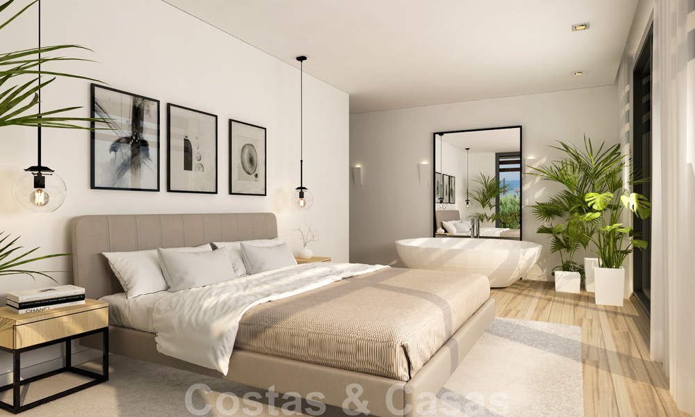 Unique ultra-modern beach front designer villa for sale, New Golden Mile, Marbella - Estepona 24946