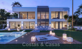 Unique ultra-modern beach front designer villa for sale, New Golden Mile, Marbella - Estepona 24948