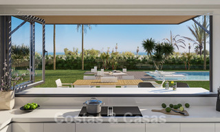 Unique ultra-modern beach front designer villa for sale, New Golden Mile, Marbella - Estepona 24949