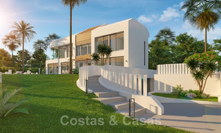 Unique ultra-modern beach front designer villa for sale, New Golden Mile, Marbella - Estepona 24950