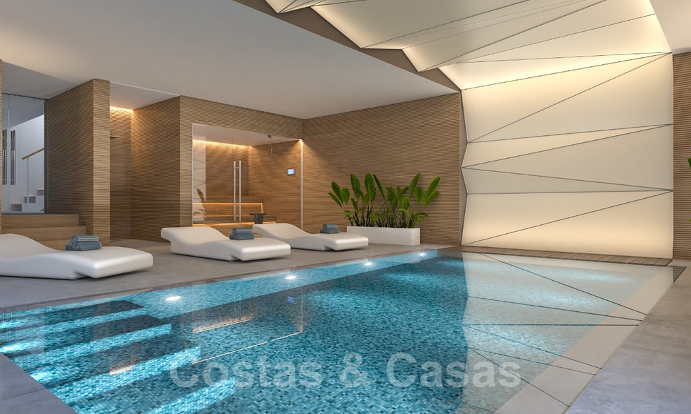 Unique ultra-modern beach front designer villa for sale, New Golden Mile, Marbella - Estepona 24953
