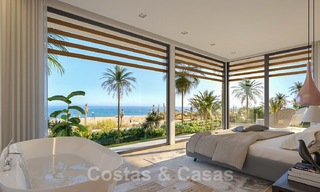 Unique ultra-modern beach front designer villa for sale, New Golden Mile, Marbella - Estepona 24954