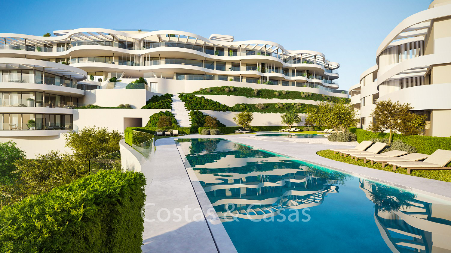 New Exquisite Contemporary Luxury Apartments For With Extraordinary Sea Golf And Fullscreen