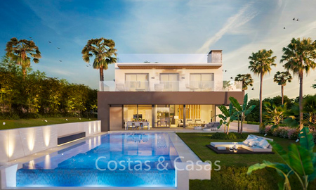 Exclusive eco-conscious designer villas for sale in Nueva Andalucía's Golf Valley - Marbella 6353