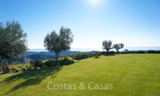 Majestic luxury villa in rural settings for sale, with amazing panoramic sea and mountain views, Benahavis - Marbella 6323
