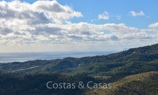 Majestic luxury villa in rural settings for sale, with amazing panoramic sea and mountain views, Benahavis - Marbella 6325