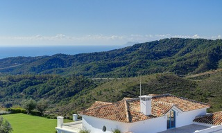 Majestic luxury villa in rural settings for sale, with amazing panoramic sea and mountain views, Benahavis - Marbella 6329