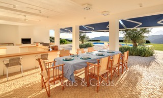 Majestic luxury villa in rural settings for sale, with amazing panoramic sea and mountain views, Benahavis - Marbella 6342