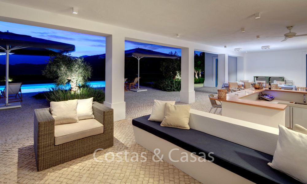 Majestic luxury villa in rural settings for sale, with amazing panoramic sea and mountain views, Benahavis - Marbella 6349