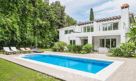Gorgeous renovated villa for sale in the heart of Nueva Andalucía's Golf Valley - Marbella 26636