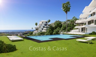 Stunning new luxury apartments for sale, with breath taking sea and valley views, Benahavis - Marbella 6471