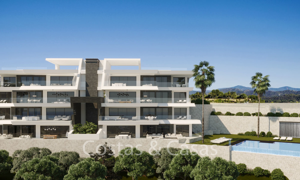 Stunning new luxury apartments for sale, with breath taking sea and valley views, Benahavis - Marbella 6472