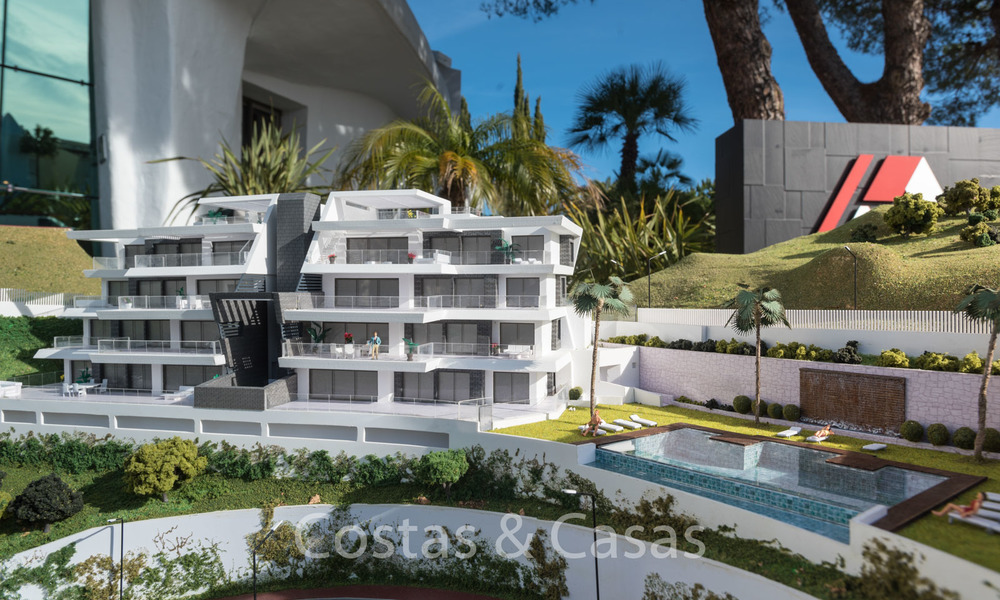 Stunning new luxury apartments for sale, with breath taking sea and valley views, Benahavis - Marbella 6474