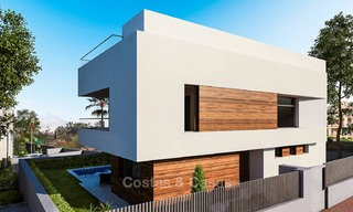 Modern, light and comfortable luxury villas for sale at a prime golf resort, New Golden Mile, Marbella - Estepona 6655