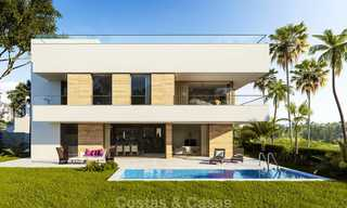 Modern, light and comfortable luxury villas for sale at a prime golf resort, New Golden Mile, Marbella - Estepona 6658