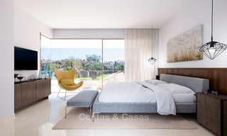 Modern, light and comfortable luxury villas for sale at a prime golf resort, New Golden Mile, Marbella - Estepona 6660
