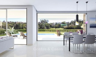 Modern, light and comfortable luxury villas for sale at a prime golf resort, New Golden Mile, Marbella - Estepona 6661