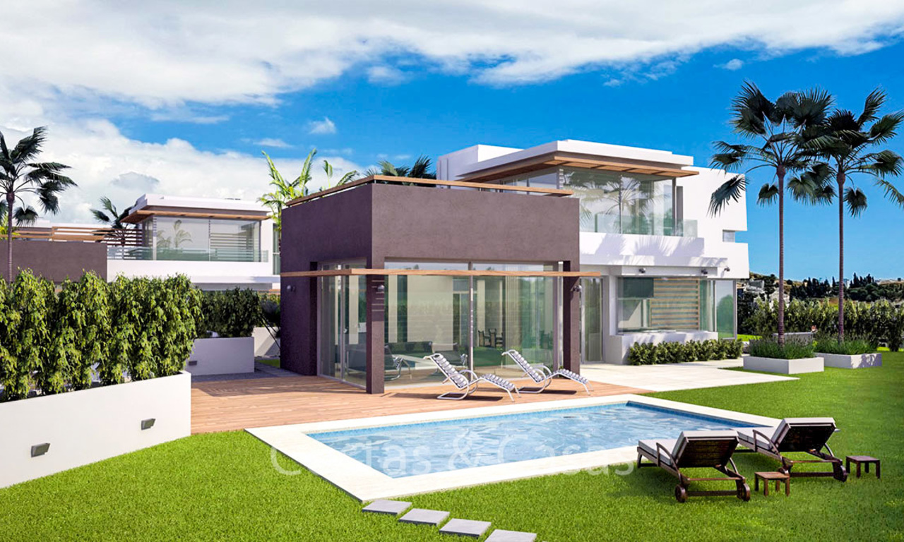 Charming luxury design villas with sea, mountain and golf views for sale, Riviera del Sol, Mijas, Costa del Sol 6492