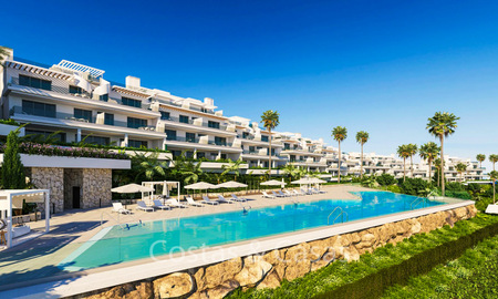 Spacious ultra-modern apartments with stunning sea views for sale, New Golden Mile, Marbella - Estepona 6533
