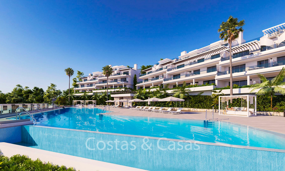 Spacious ultra-modern apartments with stunning sea views for sale, New Golden Mile, Marbella - Estepona 6534
