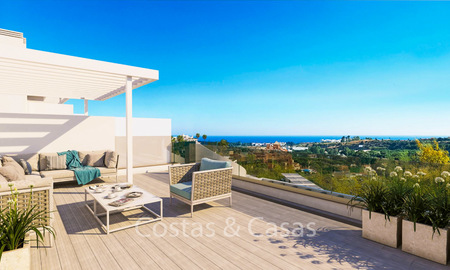 Spacious ultra-modern apartments with stunning sea views for sale, New Golden Mile, Marbella - Estepona 6536