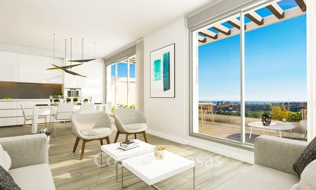 Spacious ultra-modern apartments with stunning sea views for sale, New Golden Mile, Marbella - Estepona 6540