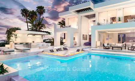 Stylish new minimalist villa with superb sea views for sale, Estepona, Costa del Sol 6528