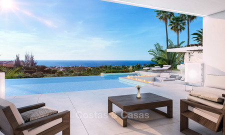 Stylish new minimalist villa with superb sea views for sale, Estepona, Costa del Sol 6530