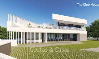Fashionable avant-garde townhouses with sea views for sale, New Golden Mile, Marbella - Estepona 6555