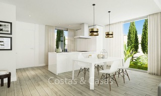 Fashionable avant-garde townhouses with sea views for sale, New Golden Mile, Marbella - Estepona 6552