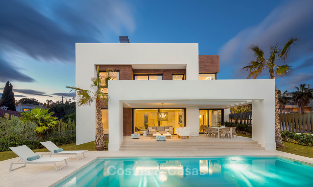 Stylish contemporary designer villas for sale on the New Golden Mile, Marbella - Estepona 6628