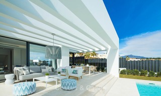 Stylish contemporary designer villas for sale on the New Golden Mile, Marbella - Estepona 6634
