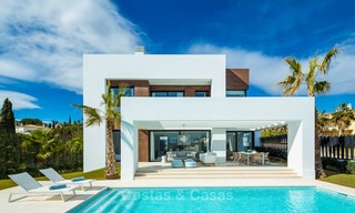 Stylish contemporary designer villas for sale on the New Golden Mile, Marbella - Estepona 6635