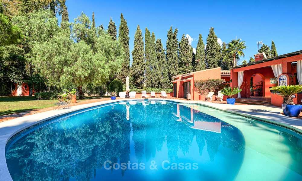 Spacious villa with good potential for sale, walking distance to the beach and Puerto Banus - Golden Mile, Marbella 6693