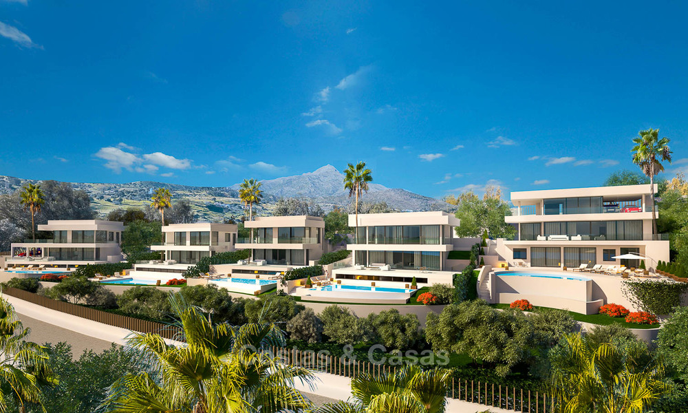 Exquisite new minimalist villa with magnificent sea views for sale, Nueva Andalucia - Marbella 6753