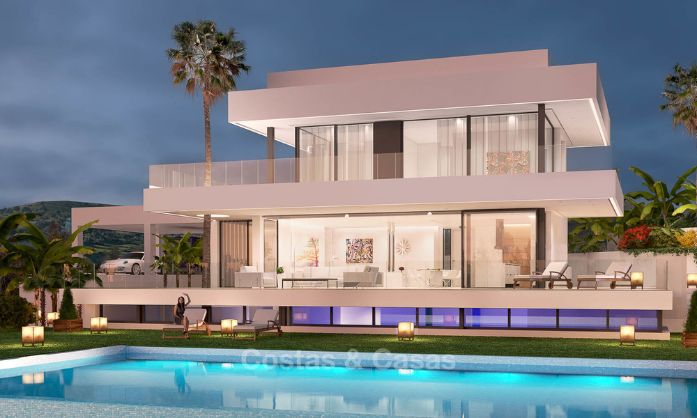 Exquisite new minimalist villa with magnificent sea views for sale, Nueva Andalucia - Marbella 6757