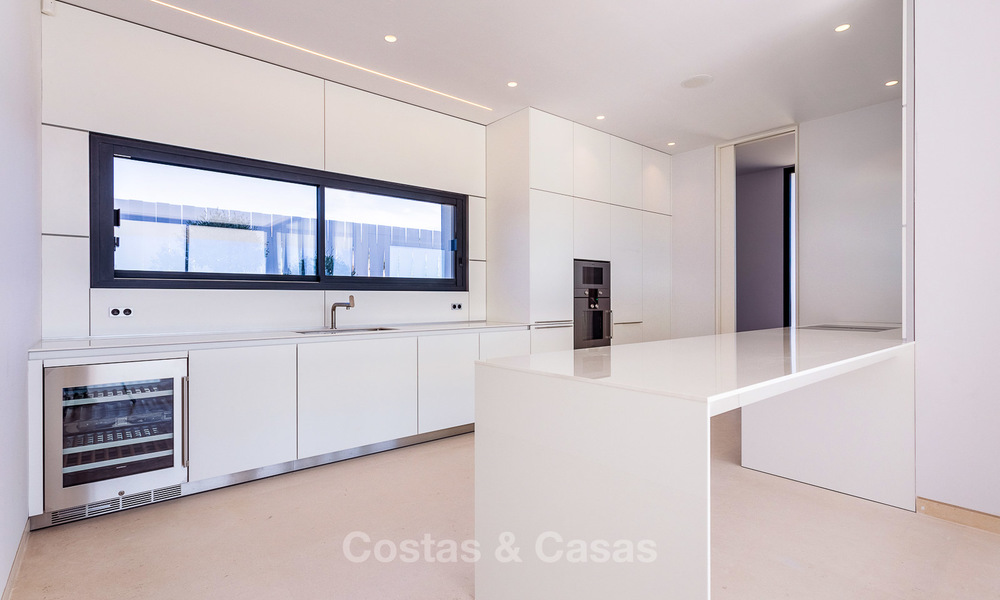 Majestic modern villa with panoramic sea views for sale, front-line golf, Benahavis - Marbella 7807