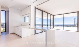 Majestic modern villa with panoramic sea views for sale, front-line golf, Benahavis - Marbella 7808