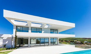 Majestic modern villa with panoramic sea views for sale, front-line golf, Benahavis - Marbella 6862